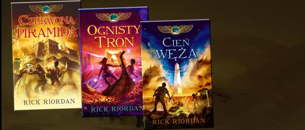 Rick Riordan Kroniki Rodu Kane Czaczytać